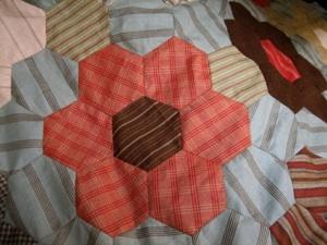 hexagon quilt tutorial