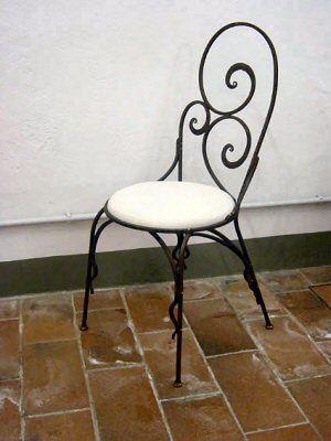 Gallery of sedie in ferro battuto - Sedia In Ferro Battuto | sedia ...