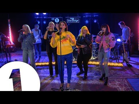 (5) Dua Lipa - IDGAF ft. Charli XCX, Zara Larsson, MØ, Alma, in the Live Lounge - YouTube