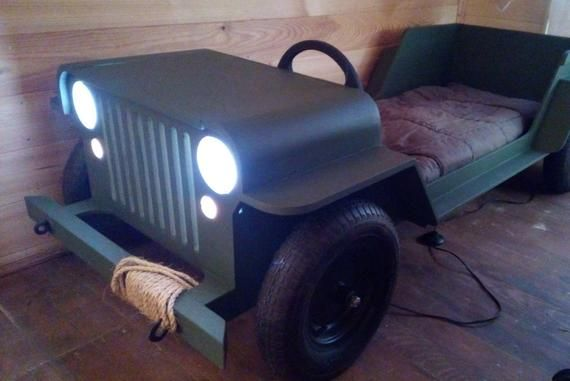 Diy Plans Toddler Car Bed Plans Willys Mb In Military Style