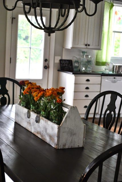 1000 Ideas About Dining Room Table Centerpieces On Pinterest Dining Room Table Decor Kitchen