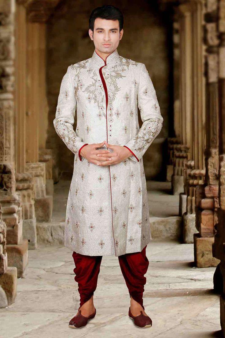 Connu Les 25 meilleures idées de la catégorie Tenue mariage indien homme  IS72