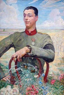 Jacek Malczewski, Portrait of Antoni Goetz-Okocimski on ArtStack #jacek-malczewski #art