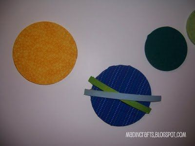 easy solar system craft printable - photo #17