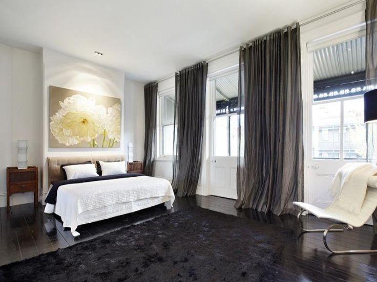 Design Inspiration Monday. Dark CarpetDark CurtainsBedroom ...