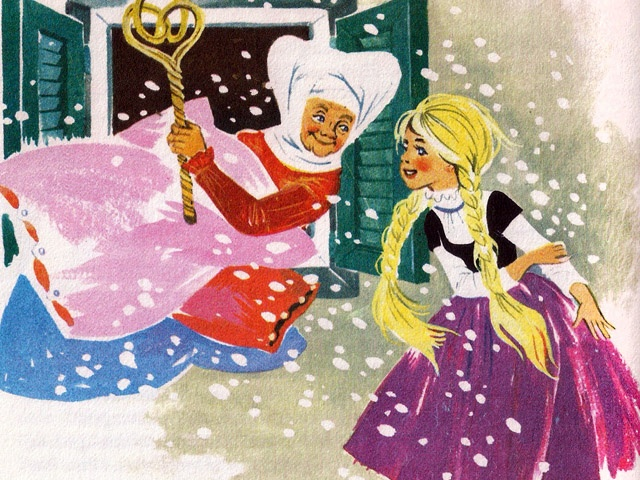 'Old Mother Frost' (by Felicitas Kuhn\The Golden Book of Fairytales)