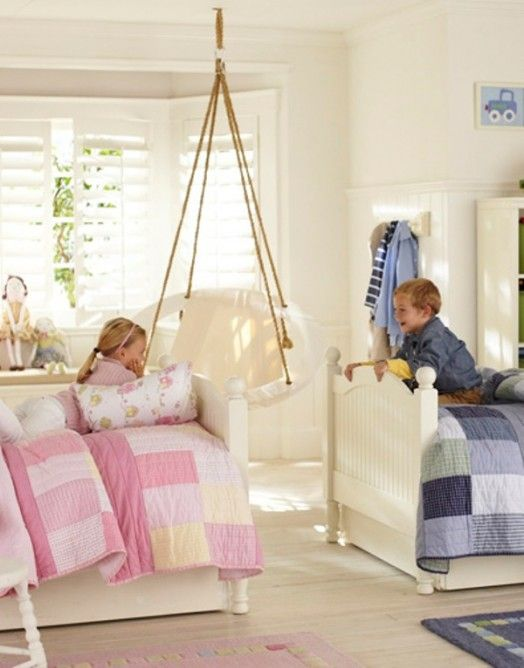66 best Boy-Girl Twin Toddler Room Ideas images on Pinterest - boy and girl bedroom ideas