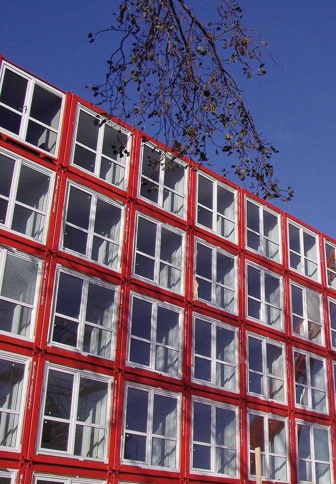 10 Prefab Shipping Container Companies in Europe - Photo 1 of 10 - Project Name: Keetwonen