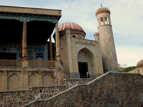Uzbekistan - Close to Shah-i-Zanda mosque in Samarkand