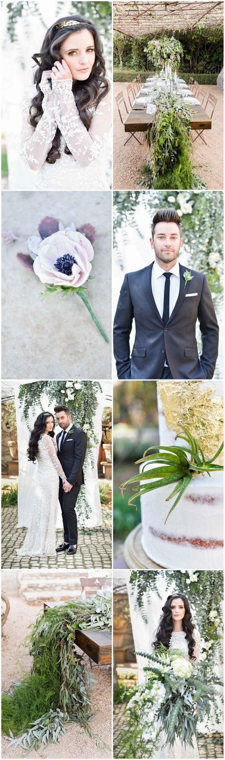 Organic, Whimsical Wedding Ideas {Jack And Jane Photography}