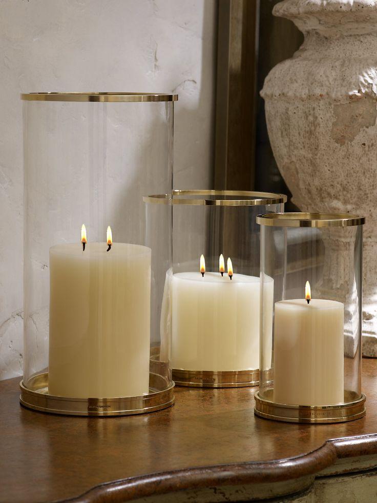 Brass Modern Hurricane - Hurricanes  Home - RalphLauren.com