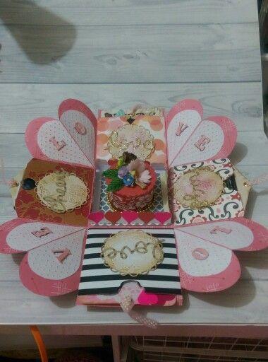 Exlosion box valentine