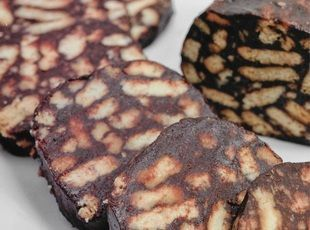 Lazy Cake - Chocolate Biscuits- AHH love this - reminds me of my vacations to Jordan!