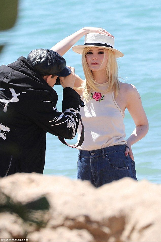 Cannes 2017: Style icon Elle Fanning looks sensational in a photoshoot #dailymail