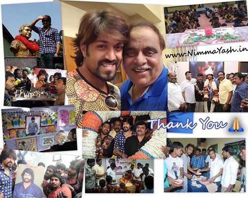 An official website of Yash has been launched yesterday, Jan 9. The Masterpiece star himself has taken this happy moment to his official so...
