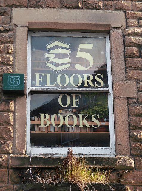 Buxton, Derbyshire, Scrivener's Bookshop