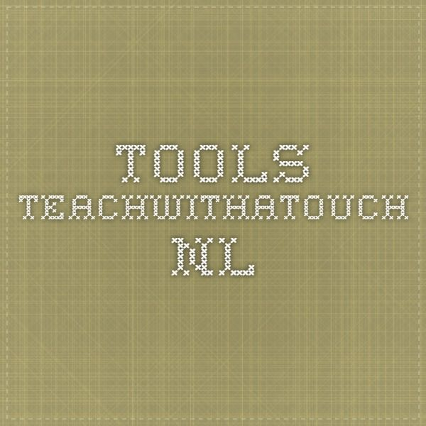tools.teachwithatouch.nl