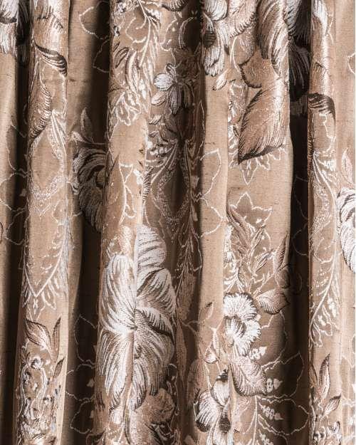 Perdele si draperii :: Tesaturi (metraj) :: Tesatura draperie Mafel maro