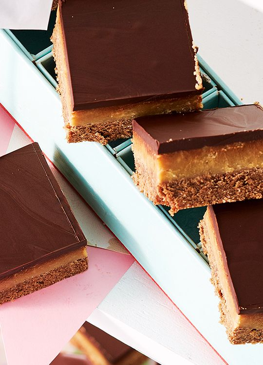 How to make Dairy-Free Caramel Slice