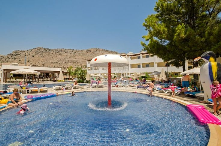 Great fun for all the family with our childrens pool #Pefkos #Rhodes #LindianCollection #MatinaPefkos