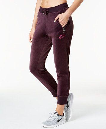 7da6e0dbefe Nike Sportswear Velour Pants