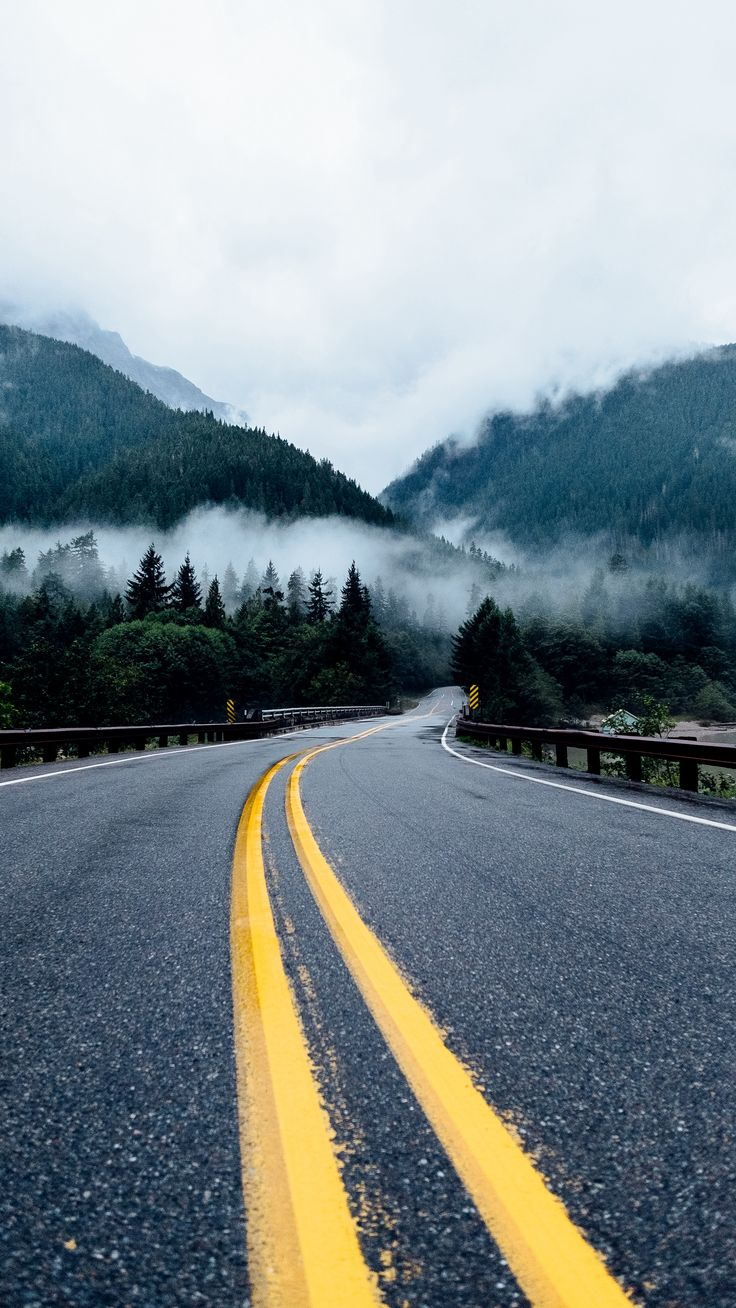 #Nature #road #marking #turn #wallpapers hd 4k background for android :)