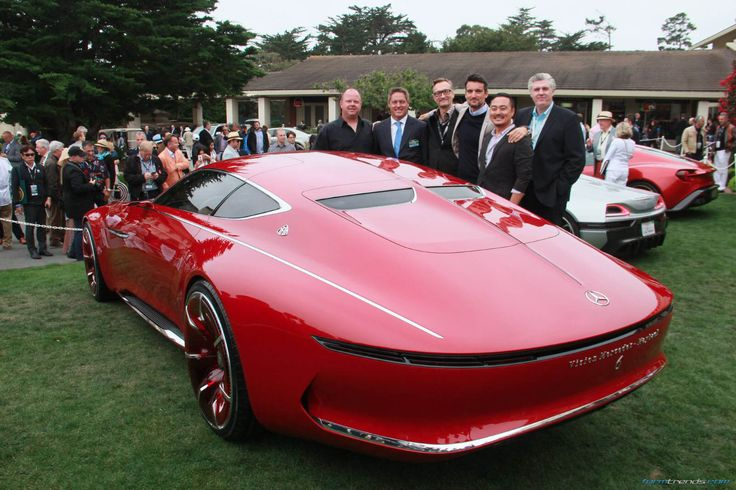 Vision Mercedes-Maybach 6 design team in Pebble Beach