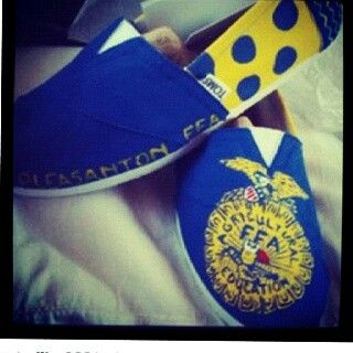 Love these FFA shoes!!