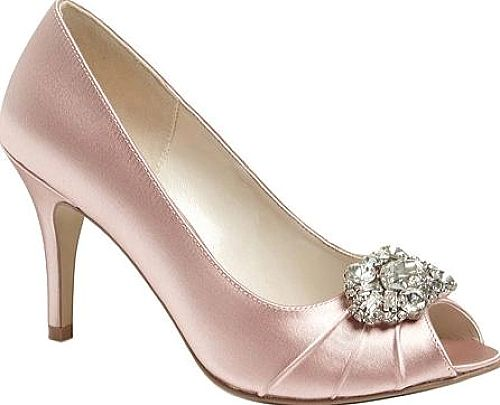 Pink Paradox London Women's Shoes in Blush Satin color. Visit our web site to compare prices on this pair or for TONS of easily pinnable content for your boards. #shoes #fashion #style #footwear