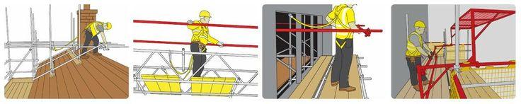 Trabajos en altura requiere más medidas y precauciones de seguridad, siga siempre las instrucciones utilizadas en equipo de seguridad.