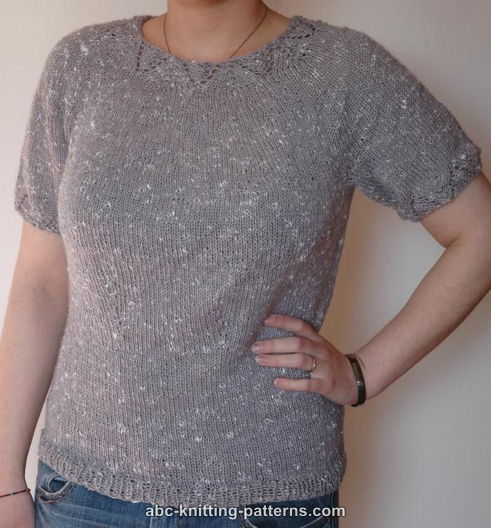 Knitting Tops Patterns : Best images about knit summer tops on pinterest free