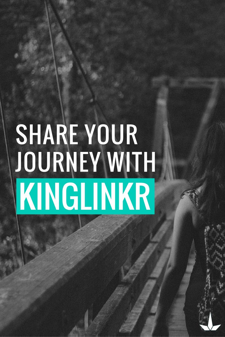 Share your journey with KingLinkr. Share all your social networks from one link. Connect for free
