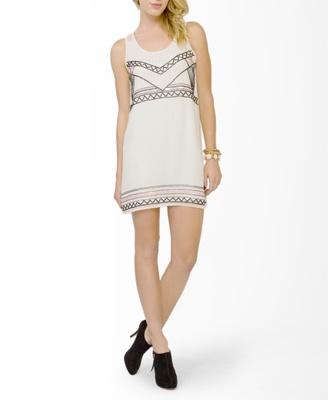 Embellished Shift Dress | FOREVER 21 - 2031557512
