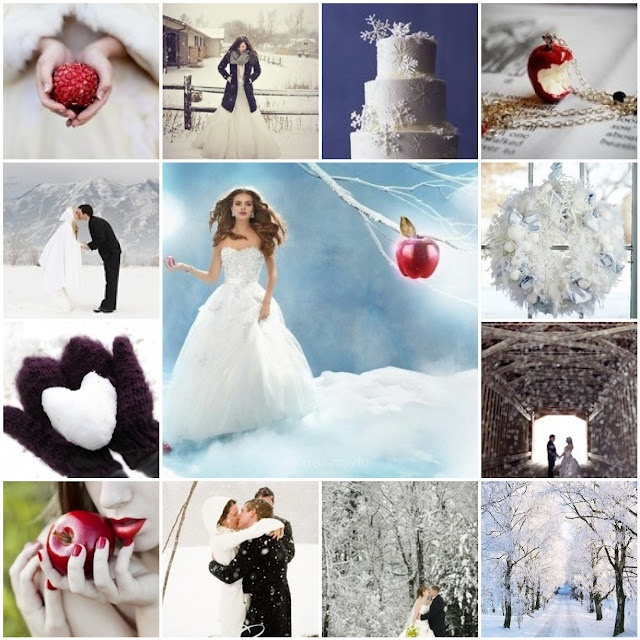 Snow Wedding Ideas: 17 Best Images About Disney Weddings-Themes & Colors Ideas