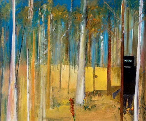 Sidney Nolan, Kelly in the Bush, 1945