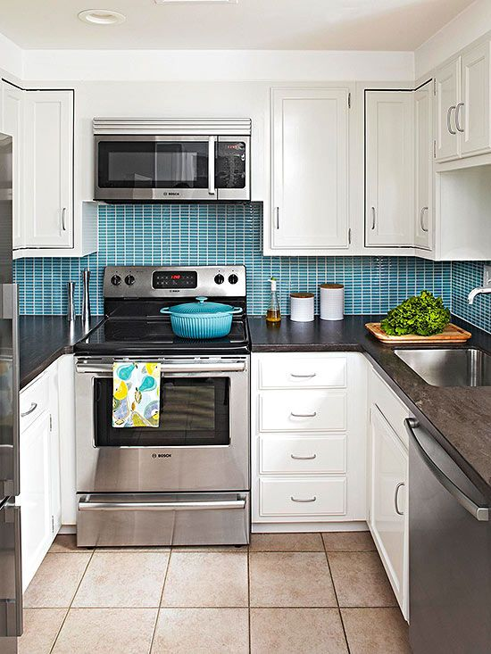 small tiles for kitchen small white kitchens blue tiles degreasers and buckets 5561