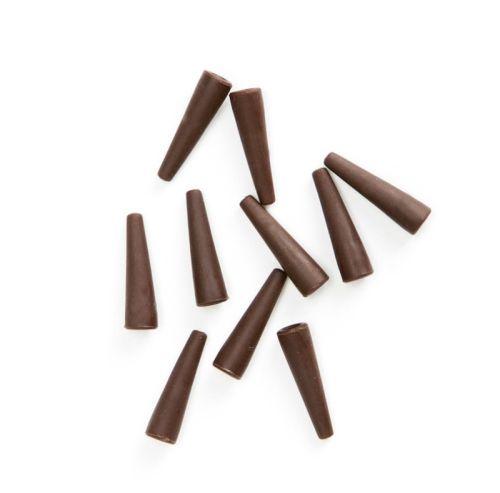 Gumowy łącznik brązowy.