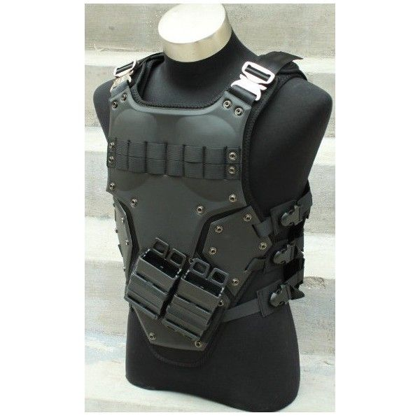 modern, sleek body armor