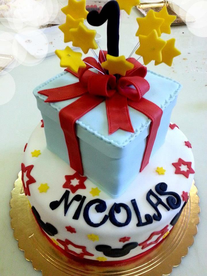 il regalo. #torta della pasticceria LaMimosa di Tollo