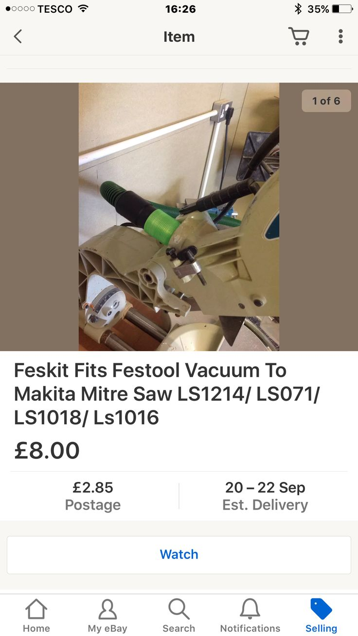 Fit festool dust extractors to Makita  Made by feskit
