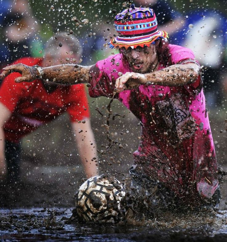 World Swamp Soccer Championship Games in Hyrynsalmi