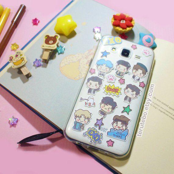 Exo Stickers Exo Power Exo Phone Stickers Exo Deco Stickers