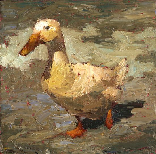 "Okay, not a ""figureative"" work like the rest of this board, but it's just a fun piece - Duck by Michael-Che"