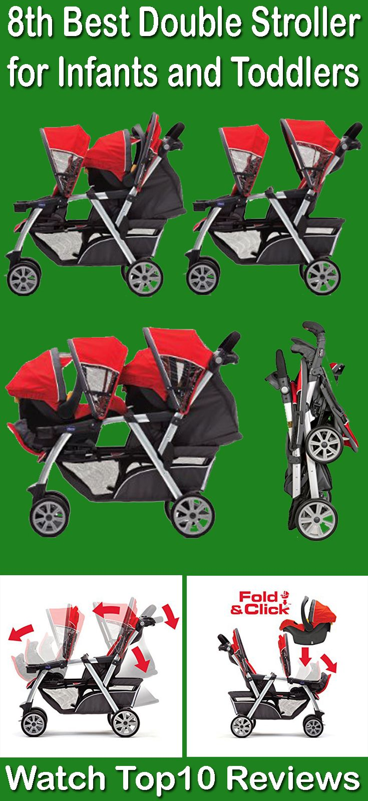 Chicco Cortina Together Double Stroller: You can make travel easier with this multi-configuration, KeyFit compatible double stroller Chicco Cortina Together Double Stroller. This best doubles stroller for toddler and newborn will keep your newborn baby safe and comfort. You can add Prams and Car seat with this best strollers.