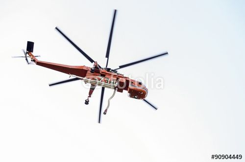 firefighter helicopter Sikorsky erickson si 64f
