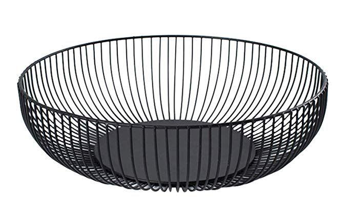 Amazon Com Yesland Metal Wire Fruit Basket 11 X 6 X 3 Inches