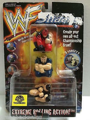 (TAS006353) - WWE WWF WCW nWo Wrestling Sliders - Kane, Big Boss Man, Stone Cold