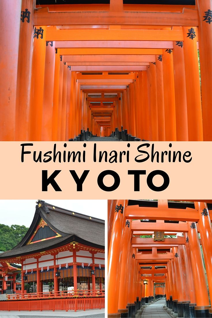 Trekking through over 10,000 red-orange torii gates at the Fushimi Inari Shrine in Kyoto Japan with kids. Read about the adventure!