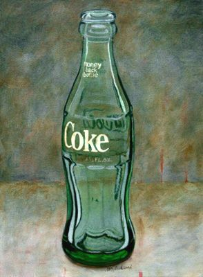 Reminds me of Ida Paine when she took hold of my coke bottle and it transformed before my eyes...