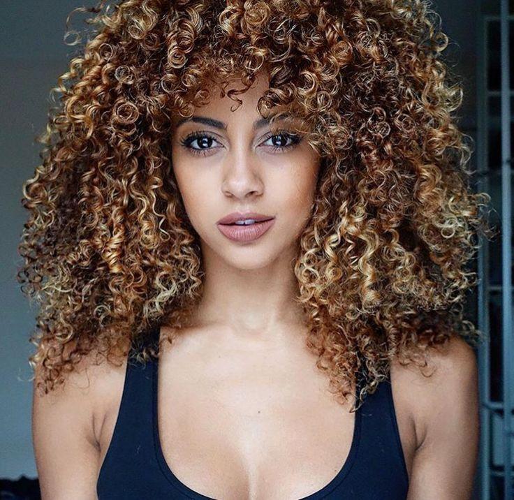 golden brown curly hair hairrrr pinterest brown